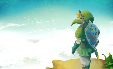 The Legend of Zelda, video game, link, warrior