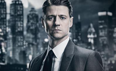 Commissioner Gordon, Gotham, tv show, season 4, 4k