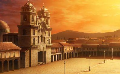 Sword art online, anime, fort