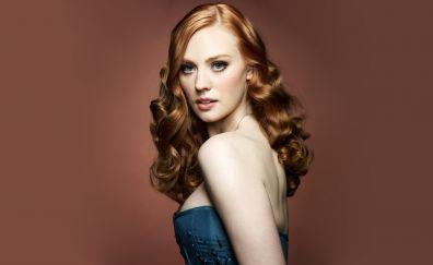 Beautiful celebrity, red head, Deborah Ann Woll