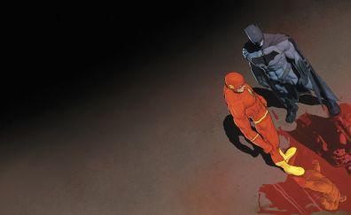 Batman and the flash, superhero