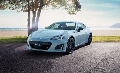 Subaru brz sti, sport car, front, 2018, 4k