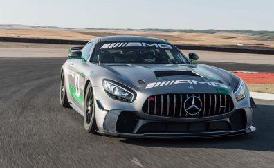Mercedes-AMG GT4 (C190), sports car, 2017
