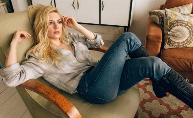 Katheryn winnick, blonde, celebrity, 2017