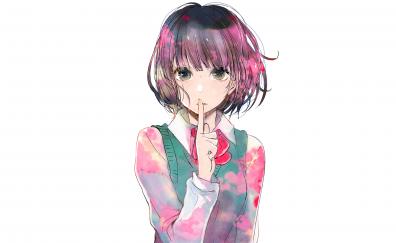 Hanabi Yasuraoka, Scum's Wish, anime girl