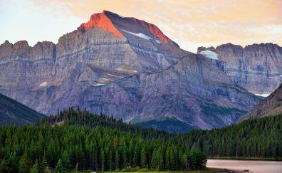 Mount goul of glacier national park montana