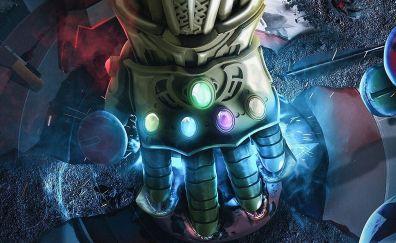Thanos, Infinity Gauntlet, gems