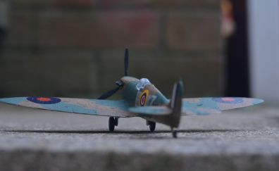 Toy, figure, fighter airplane