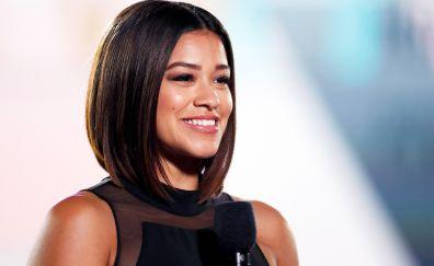 Female celebrity, smile, Gina Rodriguez
