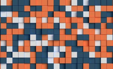 Cubes, abstract