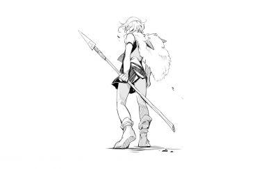 Princess mononoke artwork