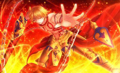 Gilgamesh, Fate/Stay night, anime