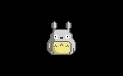 Totoro, pixel artwork