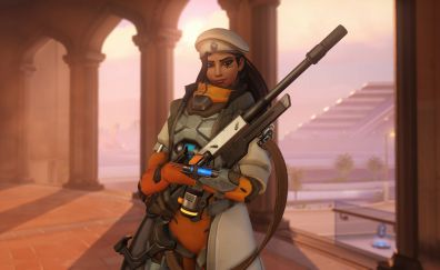 Ana, overwatch game, video game