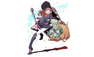 Little witch academia, Sucy Manbavaran, Lotte Jansson, anime