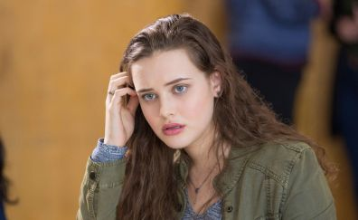 Actress, 13 reasons why, TV show, Katherine Langford, 4k