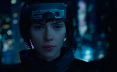 Ghost in the Shell, 2017 movie, Scarlett Johansson
