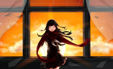Cute anime girl, tateyama ayano