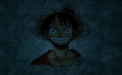Monkey D. Luffy, one piece, smile, anime