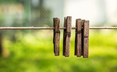 Pin, clothespins, wooden pin