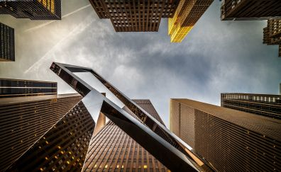 High tech building