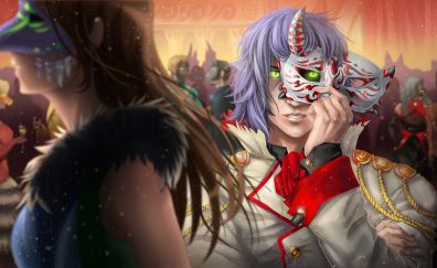 Carnival, anime boy