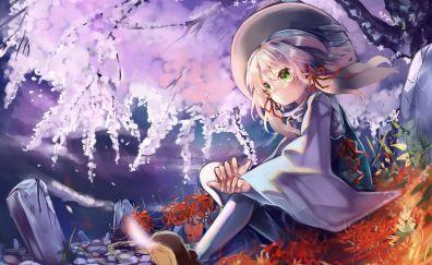 Suwako Moriya, Touhou, anime girl