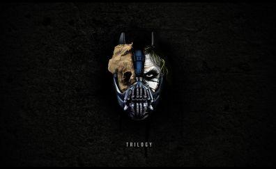 Bane, batman, scarecrow, joker, morph, villain