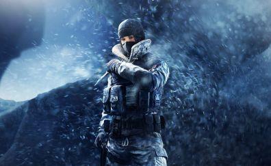 Tom Clancy's Rainbow Six Siege, frost, game, 5k