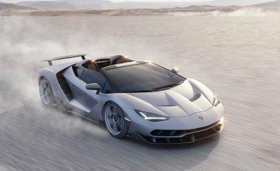 Lamborghini Centenario, sports car, convertible