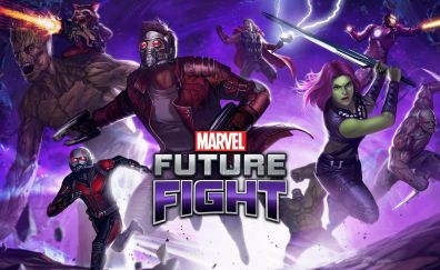 Marvel: Future Fight, online game, superhero