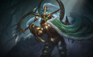 Hearthstone: heroes of warcraft, game, warrior