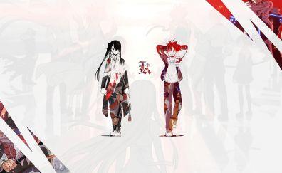 UQ Holder!, anime boy, anime girl, 5k