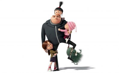 Despicable Me 3, animation movie, Gru, family, 5k