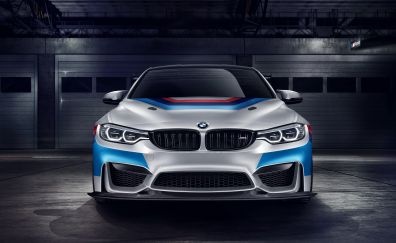Bmw M4 GT4, competition package, sports body, 4k
