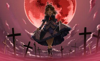 Anime, Renne Hayworth, Legend of Heroes, walk, night