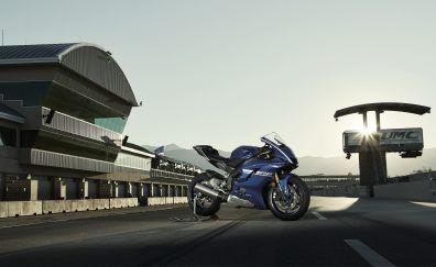 2017 Yamaha YZF-R6, bike, 4k