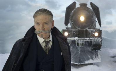 Murder on the Orient Express, 2017 movie, train, Kenneth Branagh