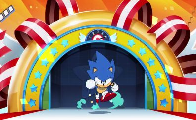 Sonic Mania, 2017 game, video game