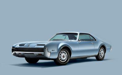 1966 Oldsmobile Toronado, classic car, front