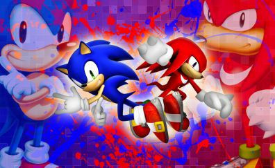 Sonic the hedgehog, video game