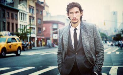 Adam Driver, street, actor