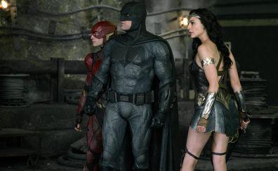 Justice League, wonder woman, The flash, batman, superhero, movie