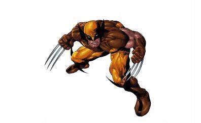 Wolverine, x-men, minimal, superhero
