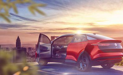 Volkswagen I.D. Crozz, concept car, 4k