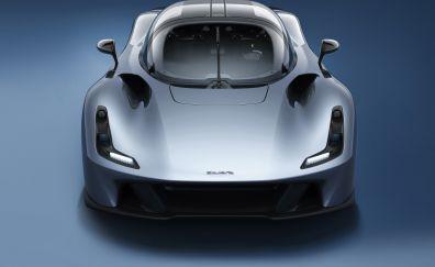 Dallara stradale, sports cars, front, 2018