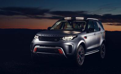 2018 Land Rover discovery SVX, suv, car, 4k