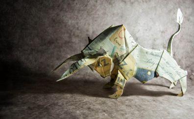 Paper bull