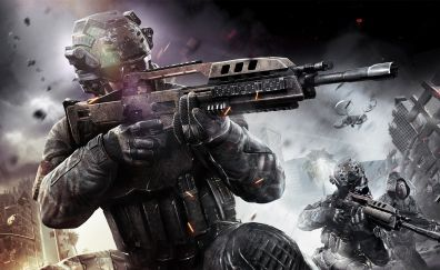 Call of Duty: Black Ops, soldier, video game