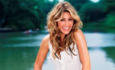 Jennifer Esposito, actress, smile